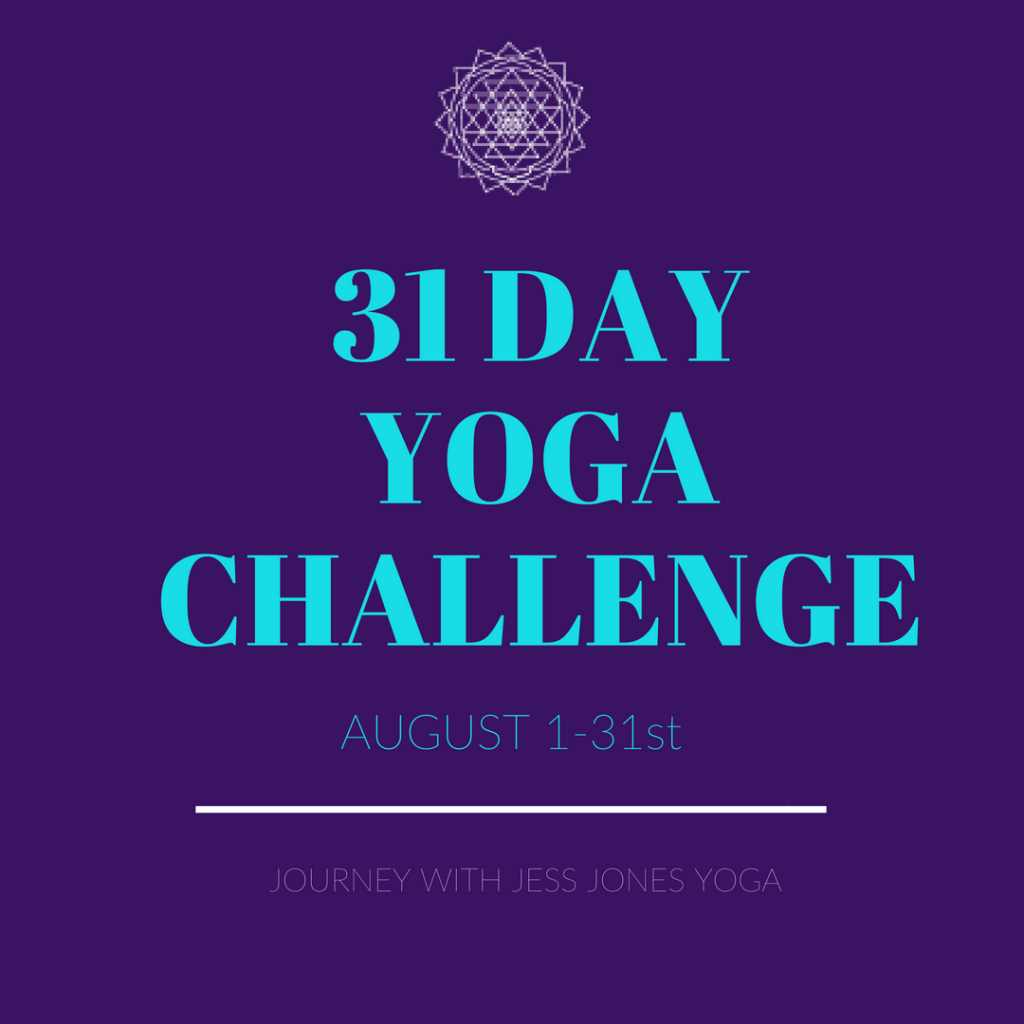 31 Day Yoga Challenge: August Transformation
